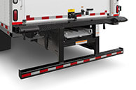 DOT (ICC) under-ride bumper w/optional walkramp and bumper blocks
